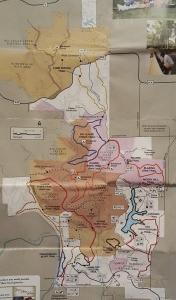 Cuivre River trails map